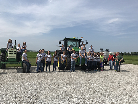 Intern farm tour-with Chisms