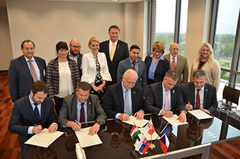 INFB_central European MOU signing